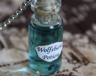 Wolfsbane - Vial Necklace