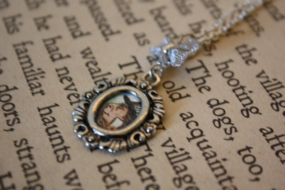 LAST ONE Alice in Wonderland Charm Necklace - Mad Hatter