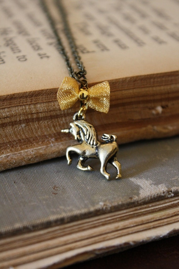 Unicorn Necklace - Fairy Tale Necklace