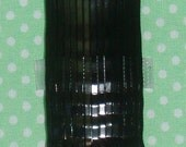 50 Black Bobby Pins, Made in Japan, Perfect for Plastic Shank Buttons - AUSTRALIA