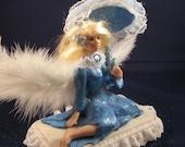 OOAK, Elizabeth, The Angelic Victorian Fairy, Polymer Clay Art Doll