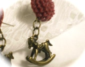 RESERVED for Becca: Rocking Horse Charm