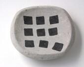 Run Away Square Concrete Plate