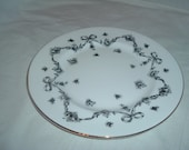royal victoria china desert plate