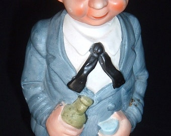 Vintage musical figure of yatch captain