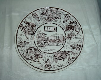 a hersheys collectible wall plate