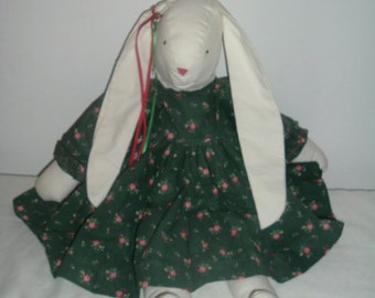 homemade decorative bunny