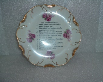 vintage collectible wall plate