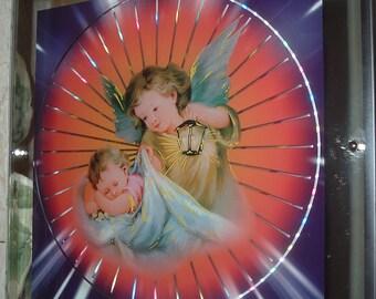 Guardian ANGEL WALL ART Vintage