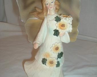vintage fairy figure