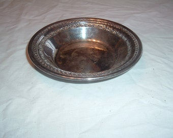 REED & BARTON SILVER plate bowl / candy dish