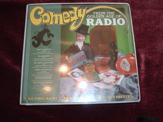 Comedy From The Golden Age of Radio 20, ninety minutes cassettes