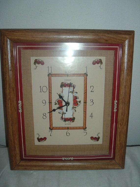 cannon quartz wall clock
