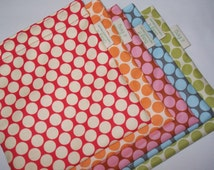 Three reusable sandwich bags - YOU CHOOSE the fabric