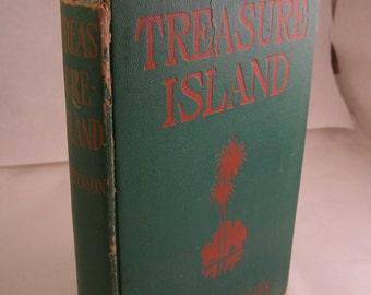 Vintage Treasure Island by R L Stevenson Book