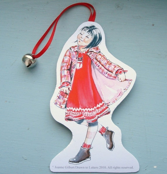 Santa's Kids Ornament/GiftTags Keepsake