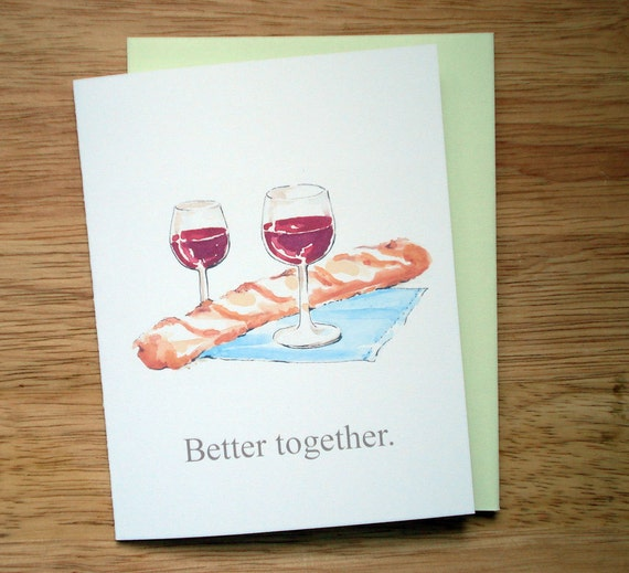 Better Together Anniversary Valentine Friendship Invitation Card