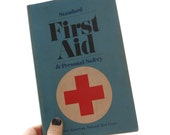 first aid and personal safety 1973 book vintage