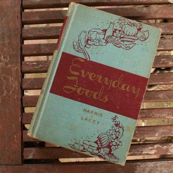 Everyday Foods 1944 cookbook bridal shower wedding gift vintage