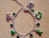 Organ Donor Charm Bracelet for Recipient or Donor Family