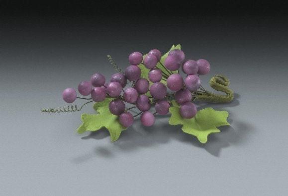 gumpaste grapes