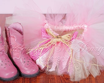 Pink Wild West Cowgirl Tutu, Halloween Costume, Country, Western, Shabby Chic, Rustic, First Birthday