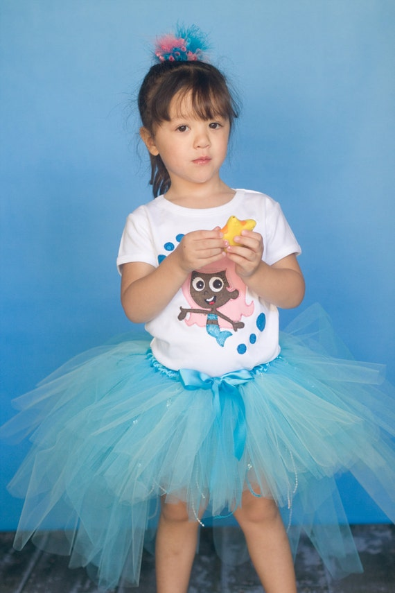 Bubble Guppies Molly Inspired Tutu, Preschool Size