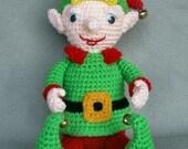 Christmas Elf -  Crochet Pattern