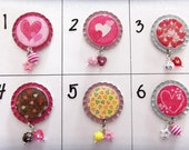 TOP Only**Valentine Badge Reels Tops  *PICK one*
