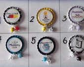 TOP Only**Pharmacy Interchangeable Badge Reel Tops (Set A)  *PICK one*