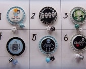 TOP Only**X Ray Technologist Interchangeable Badge Reel Tops  *PICK ONE*