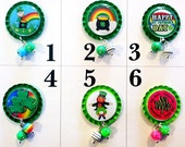 TOP Only**New St. Patricks Day Badge Reel Tops  *PICK ONE*