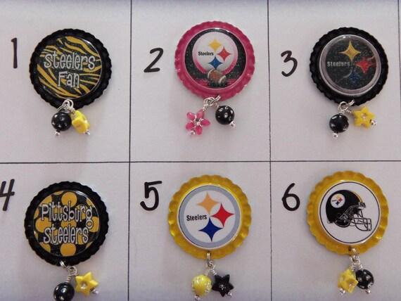 TOP Only**Pittsburg Steelers Badge Reel Tops  *PICK one*