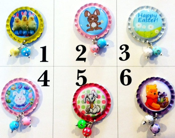 TOP Only**Easter Interchangeable Badge Reel Tops  *PICK one*