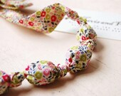 Handmade Bead Necklace in 'Fairford' by Liberty of London