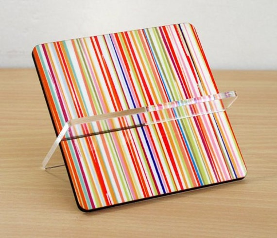 Office decor ideas, desk business card holder, business card, desk accessories ,desk organizer, home and living, colorful stripes