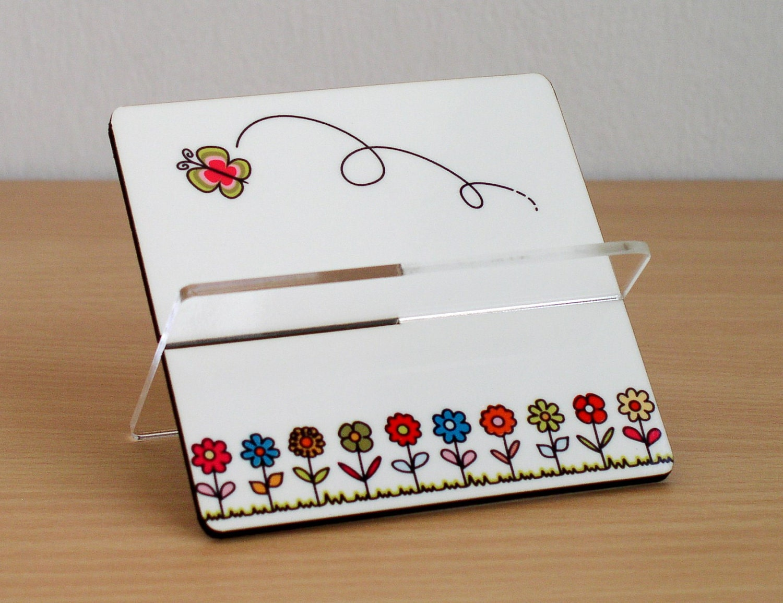 Business card holder desk accessories storage organization