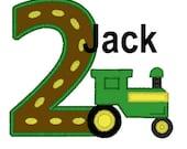 Greatstitch New Design Tractor 1st Birthday Shirt Boy 2nd Birthday 3rd Birthday