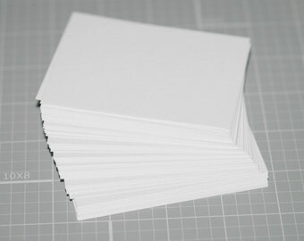 100 ATC / ACEO Blanks ... Cold Press Watercolor Art Cards Strathmore Acid Free Thick Artist Supplies Textured Off White Archival Watercolour