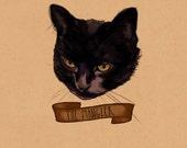 "Cute Custom Pet Portrait, 8.5""x11"""