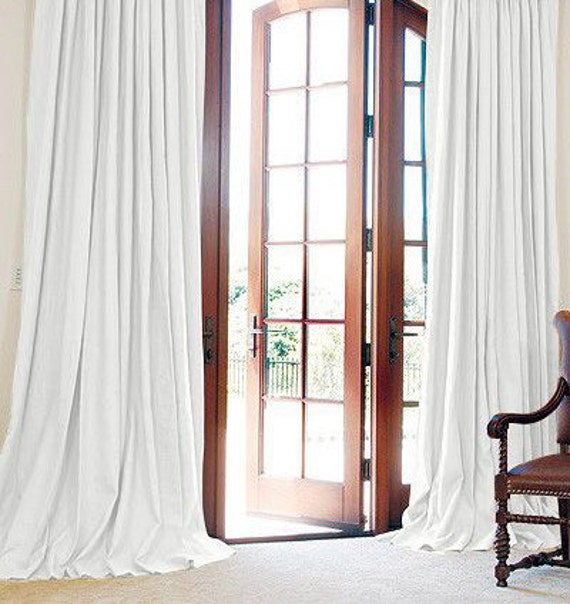 Curtains Ideas curtains double width : Pair two 100W panels extra wide double width curtain panel
