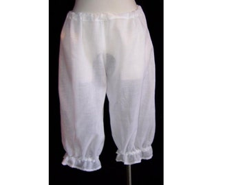 Light Weight Bloomers Pantaloon White low rise M