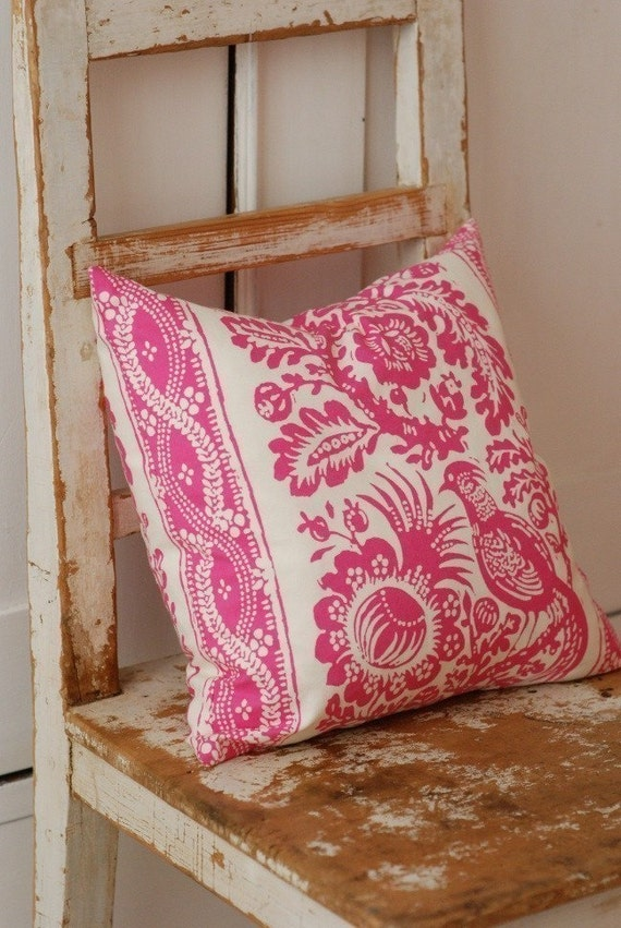 Shabby Chic Decorative Pillows : Shabby Chic Pillow Cover Cottage Chic Decorative Pillow Cover