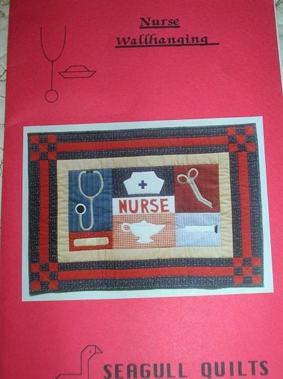 Nurse Wallhanging By Seagull Quilts Quilt Pattern By