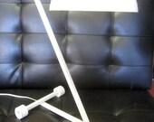 Super Duper Mid Century Mod Lamp w Z design
