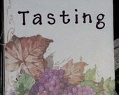 MADE TO ORDER Customizable Wine Tasting Journal FREE SHIPPING and FREE GIFT WRAPPING