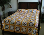 Country Sunshine Queen Sized Quilt
