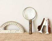 Desktop Curiosities-Instant Collection-Magnify, Measure, Unstaple