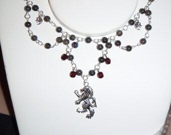 Gothic Steampunk Vampire Lycan Beloved Necklace