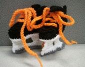Philadelphia Flyers, playoff Hockey booties, Flyers baby shower booties